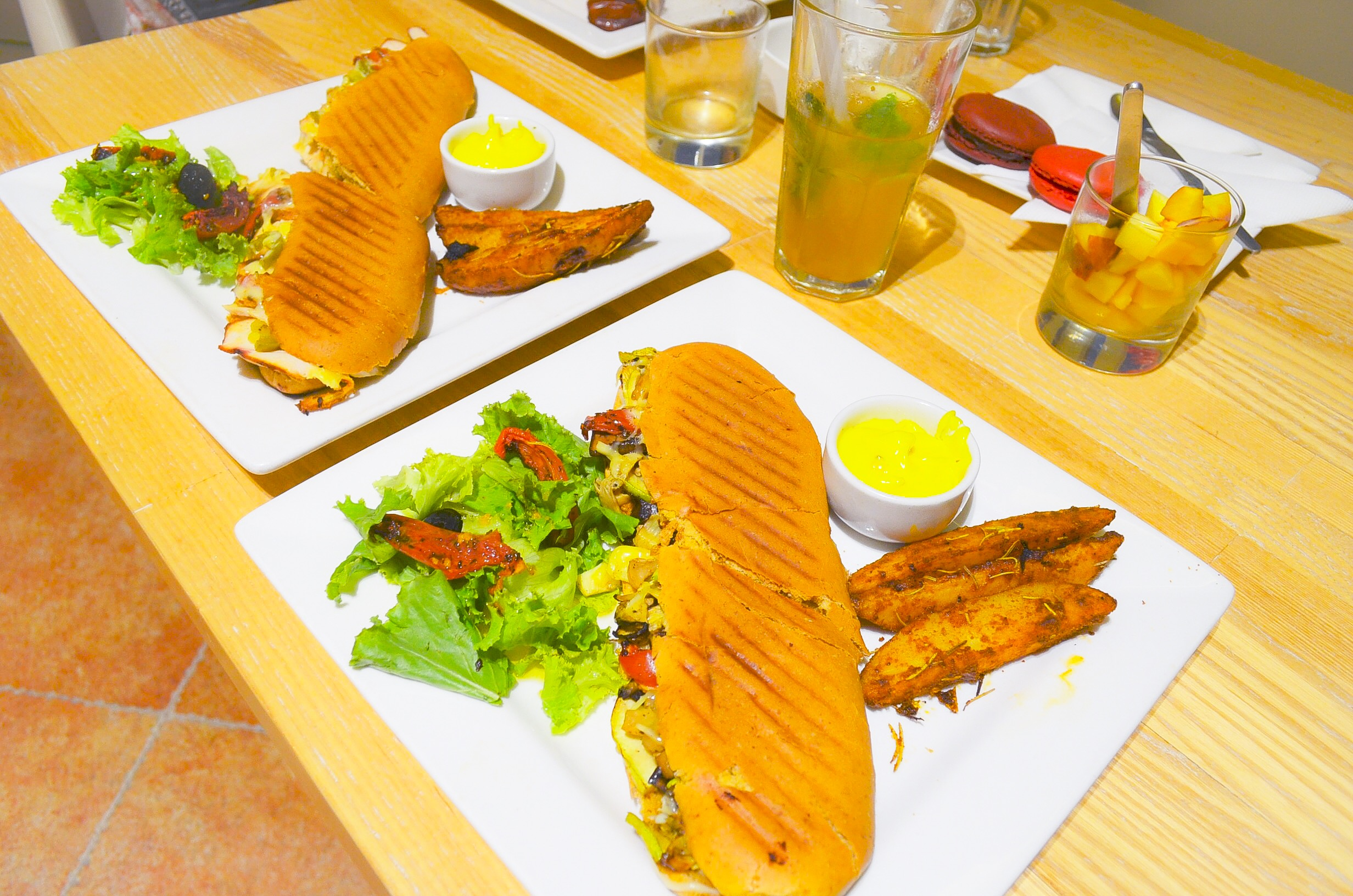 Grilled Paninis at Mocca Coffee Gulberg