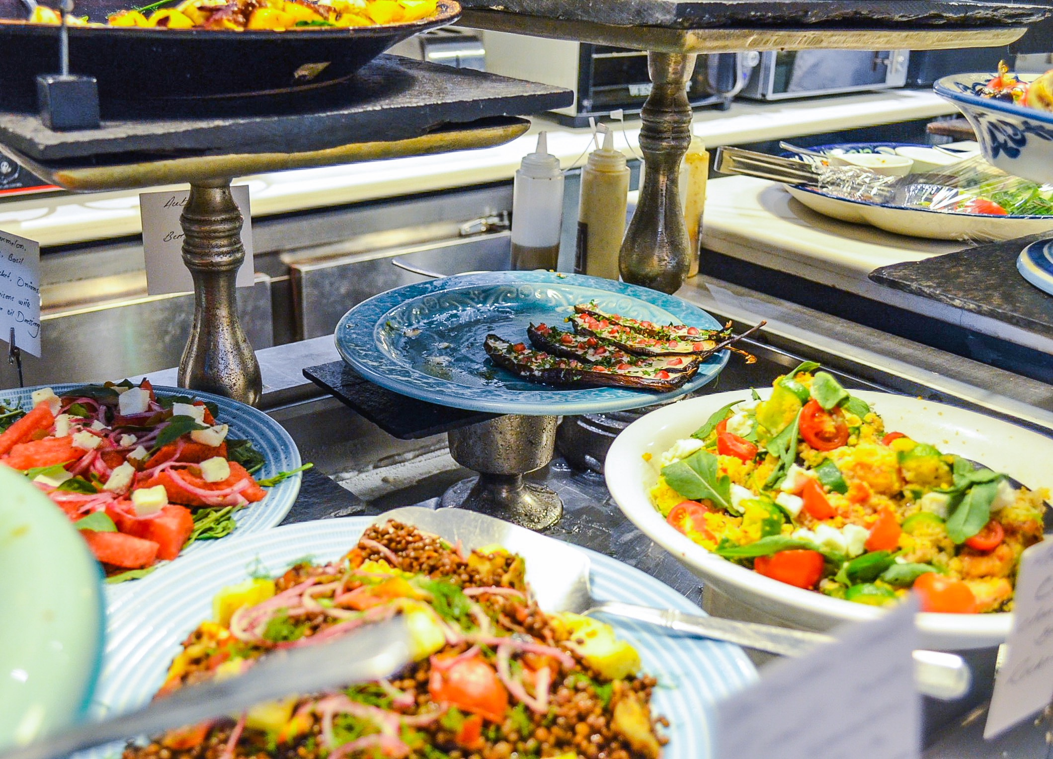 Luscious Salad Counter at The Pantry (Mall One)