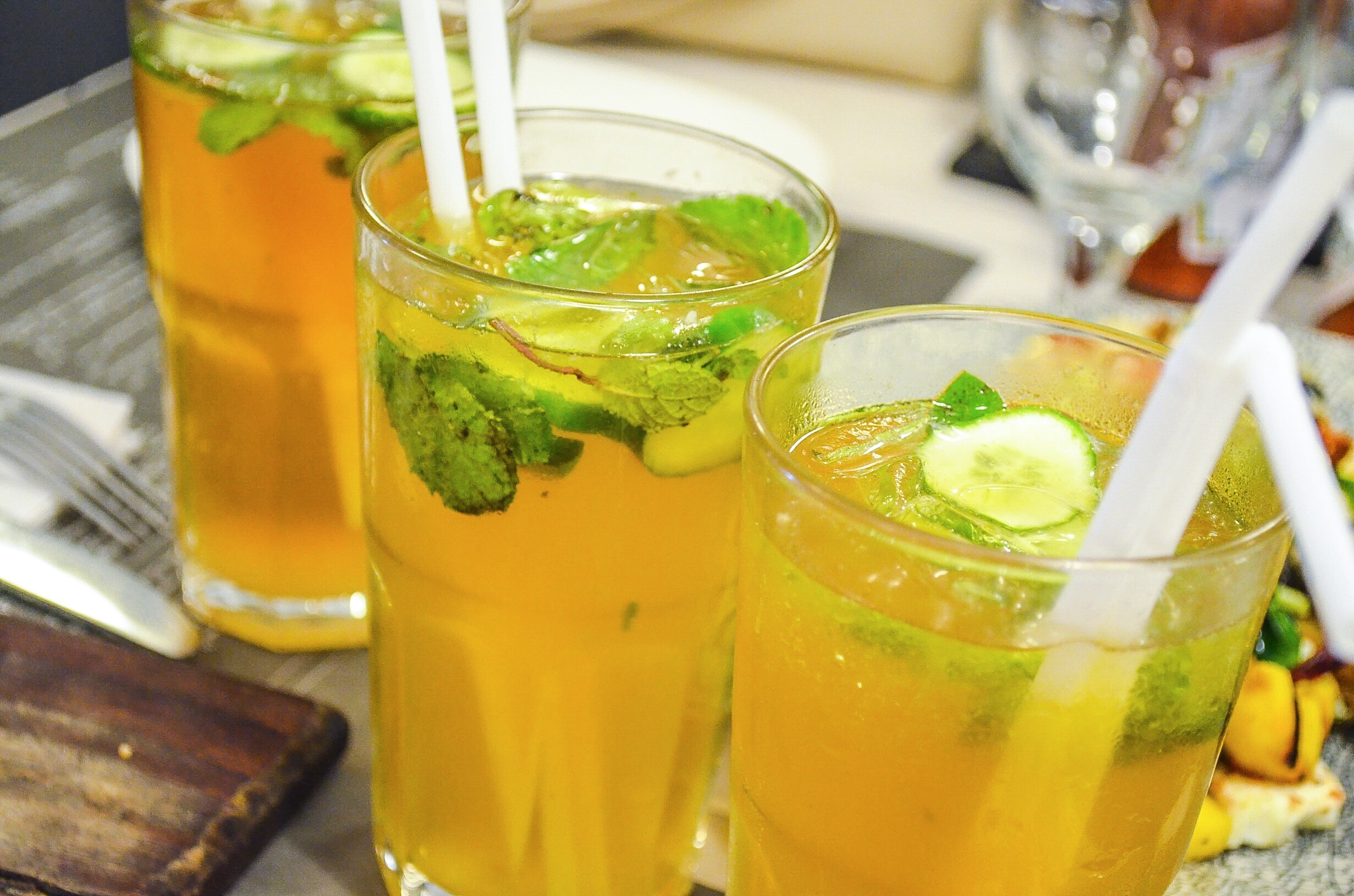 Refreshing Caramel Lemonade at The Pantry by The Polo Lounge (Mall One) - try this if you're feeling slightly adventurous and want a lemonade with a twist!