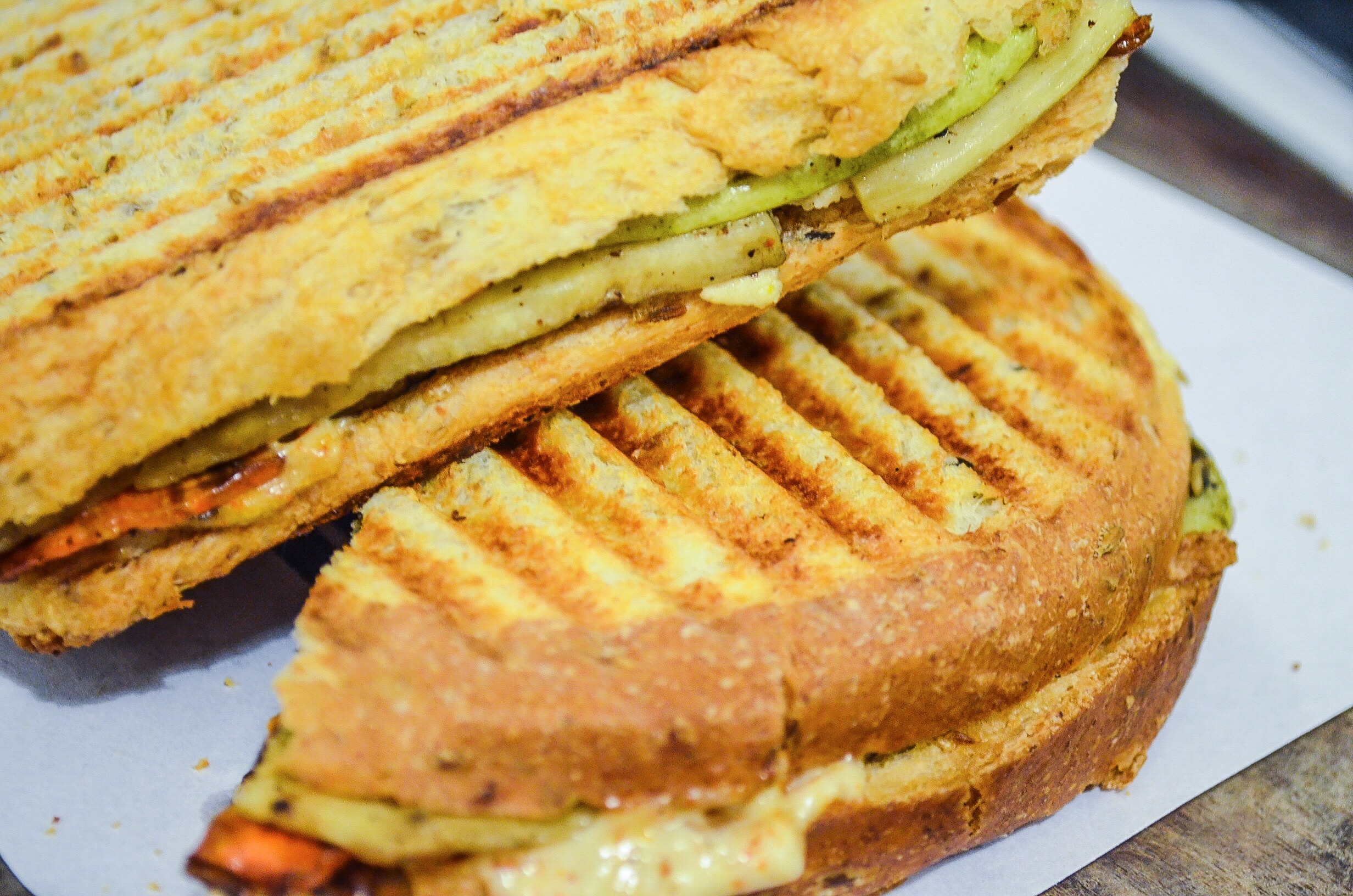 Grilled Vegetable Sandwich - so yum!